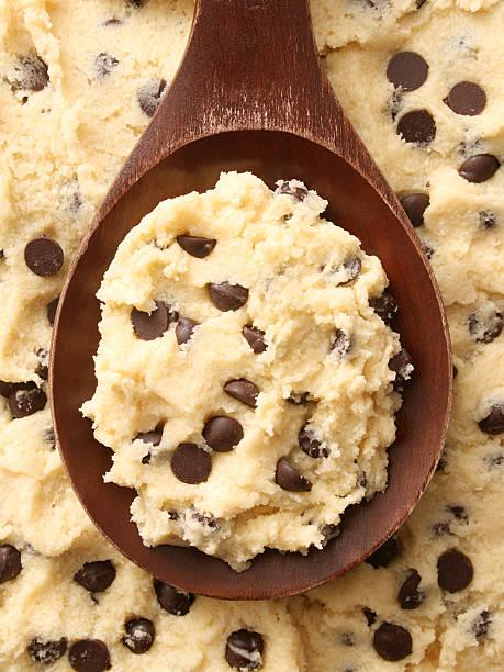 cookie impasto per il pane - impasto per il pane foto e immagini stock