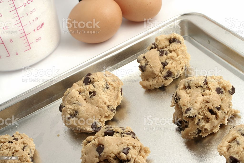 cookie dough stock photo