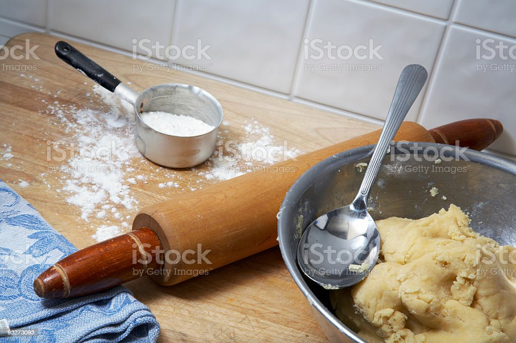 Cookie Dough royalty-free stock photo
