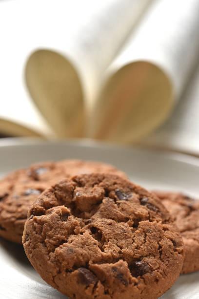 Cookie love stock photo