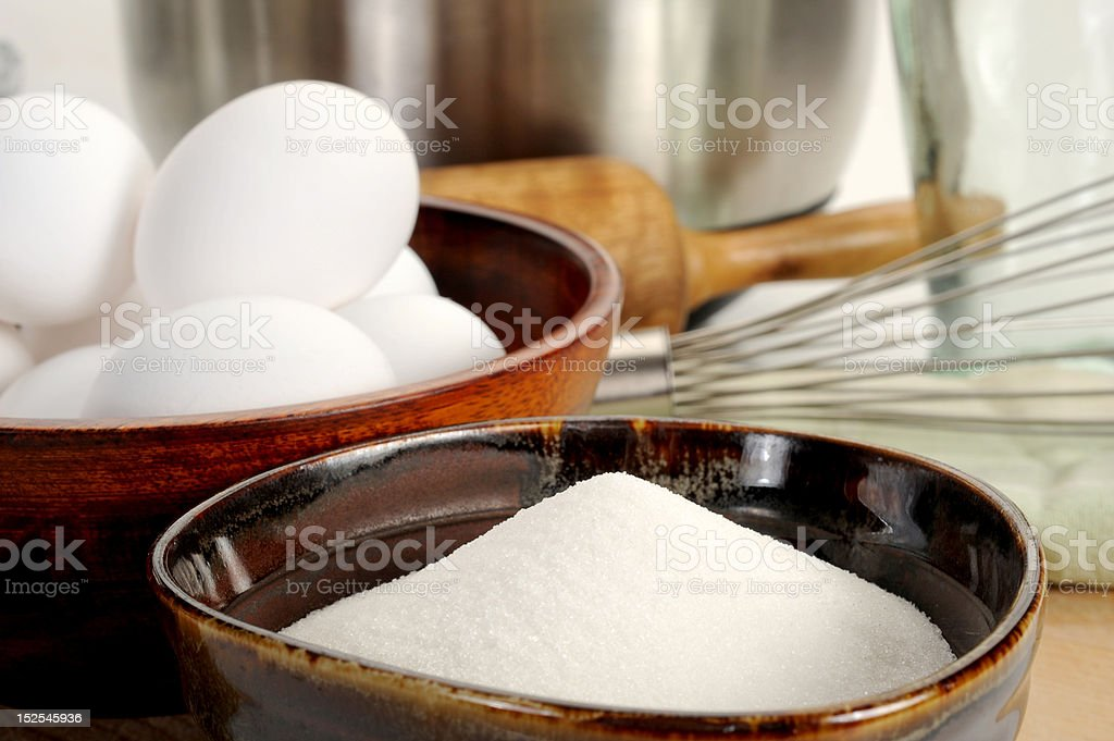 Cookie Making in Process royalty-free stock photo