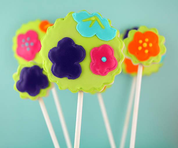 cookie-pop - lutscher cookies stock-fotos und bilder