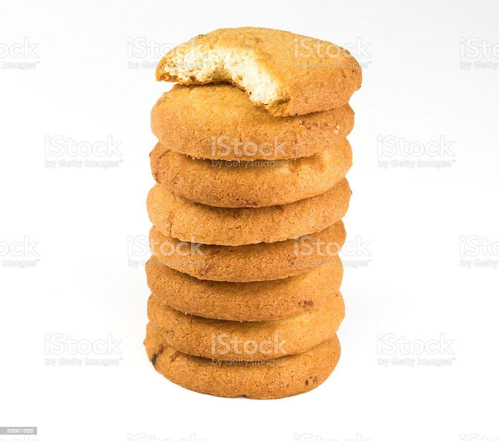 Cookie-stack Lizenzfreies stock-foto