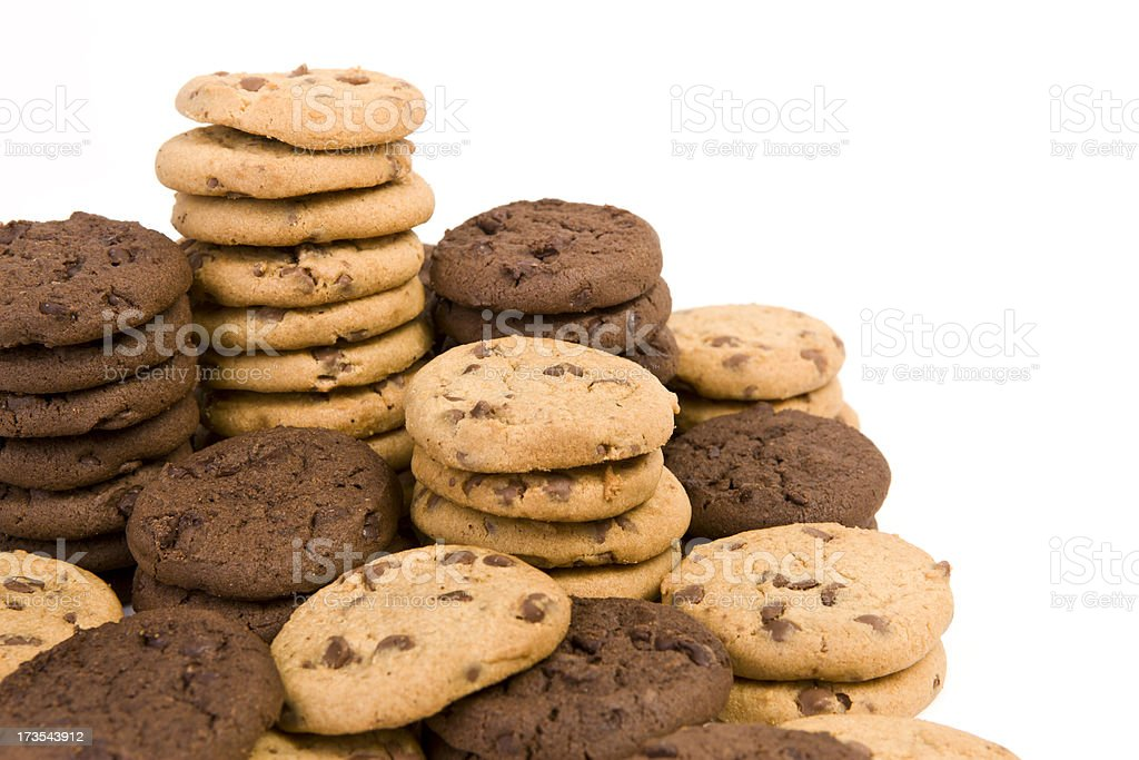 Cookie Stacks royalty-free stock photo