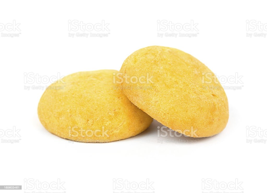 cookie sweets on white background royalty-free stock photo