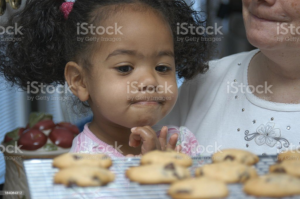 Cookie time royalty-free stock photo