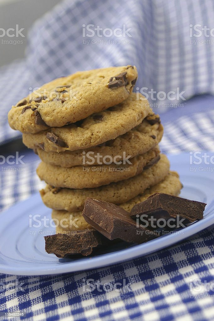 Cookie Tower royalty-free stock photo