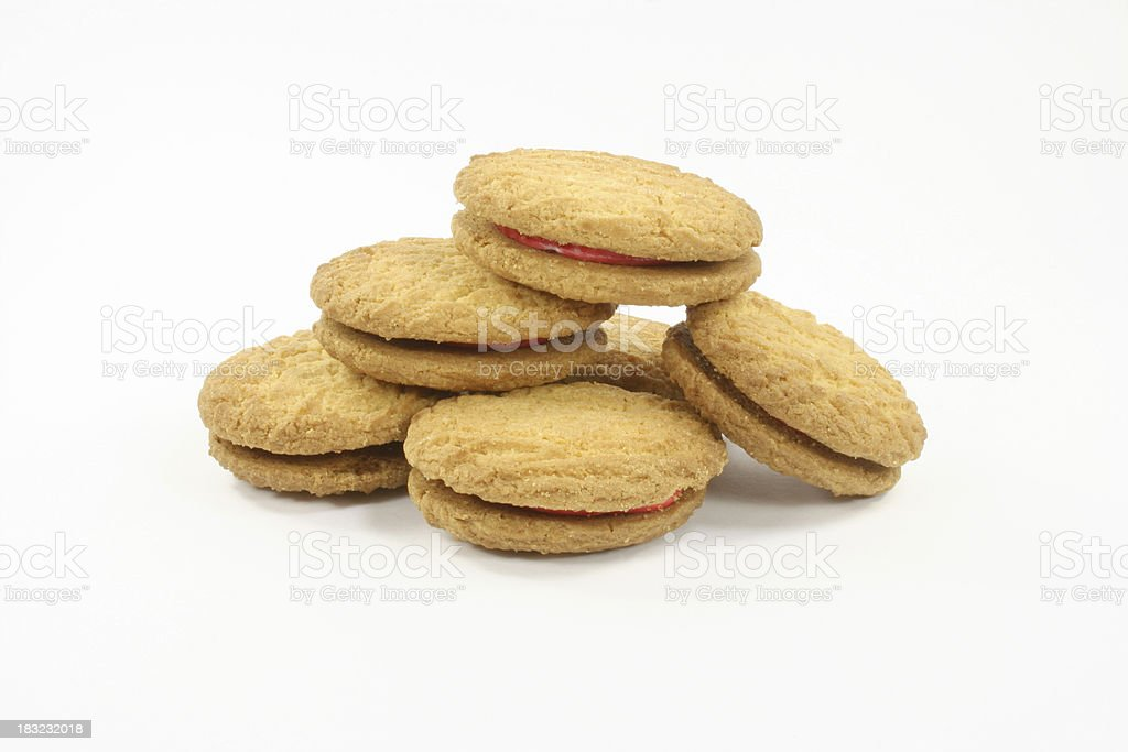 cookies and biscuits royalty-free stock photo
