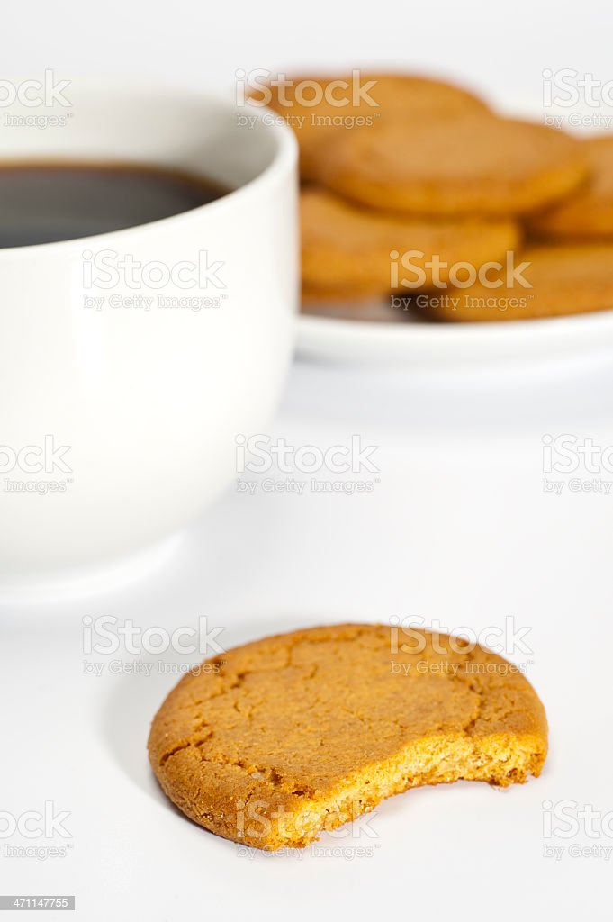 Cookies and Coffee stock photo