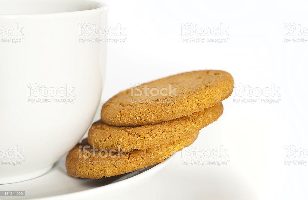 Cookies And Mug stock photo