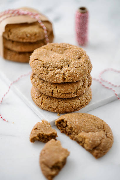 Cookies and Twine stock photo