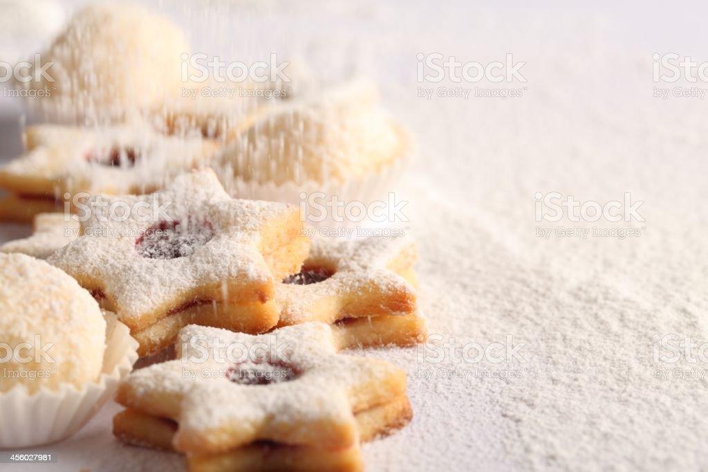 Cookies Hintergrund – Foto