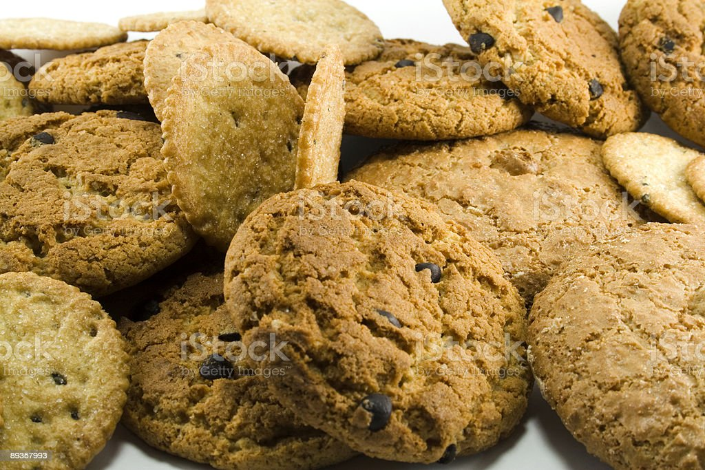Cookie close-up foto stock royalty-free