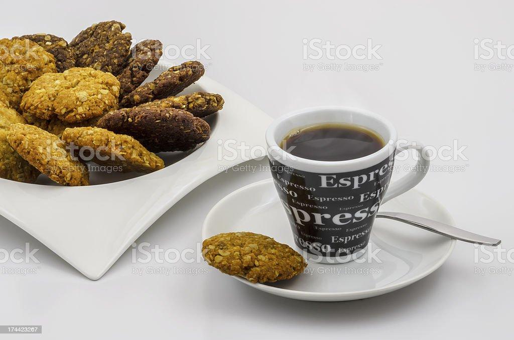 Cookies & Coffee 02 royalty-free stock photo