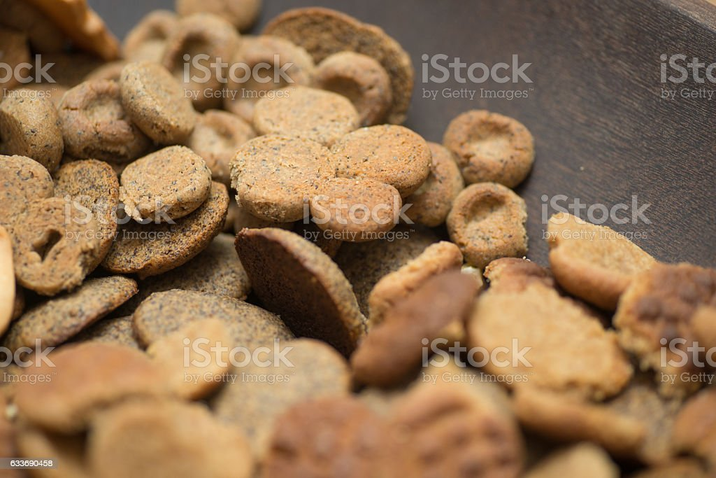 cookies for christmas close-up stock photo