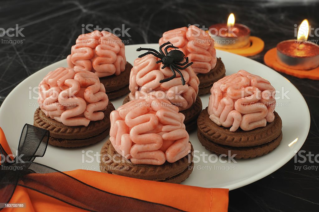 Cookies for Halloween stock photo