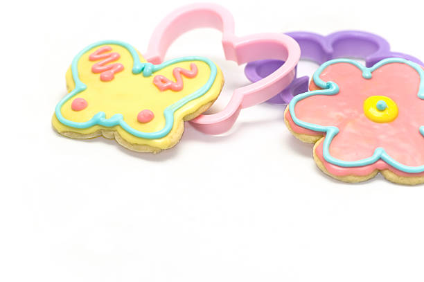 Cookies for Spring stock photo