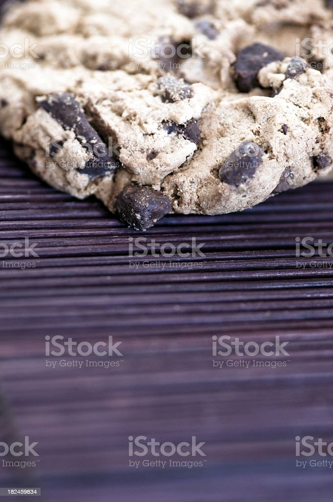 Cookies in close up royalty-free stock photo