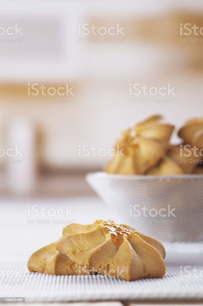 cookies in vase royalty-free stock photo