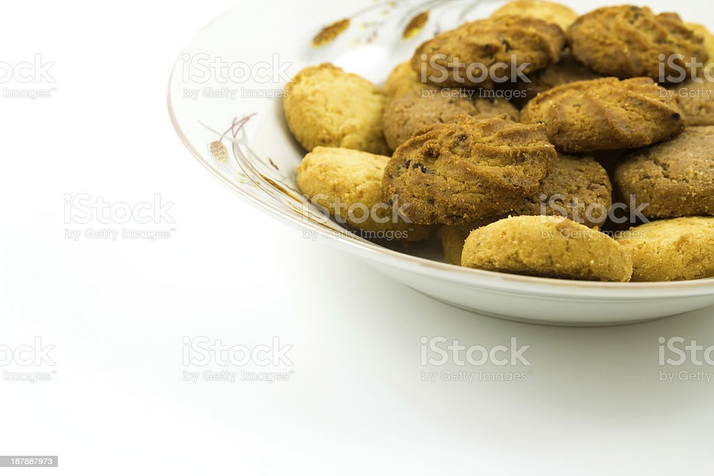 Cookies isolated royalty-free stock photo