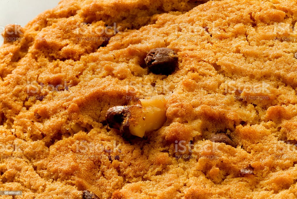 Cookies macro texture royalty-free stock photo