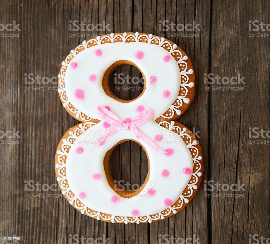 Cookies number eight 스톡 사진