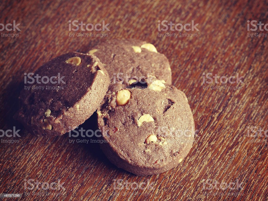 Cookies Old Retro Vintage Style Stock Photo Download Image