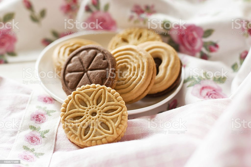 Cookies (selective focus) royalty-free stock photo