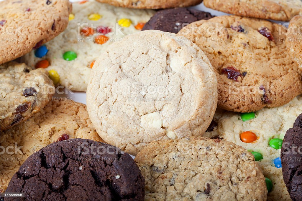 Cookies Cookies Baked Stock Photo