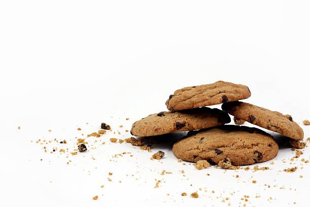 i cookie - briciola foto e immagini stock