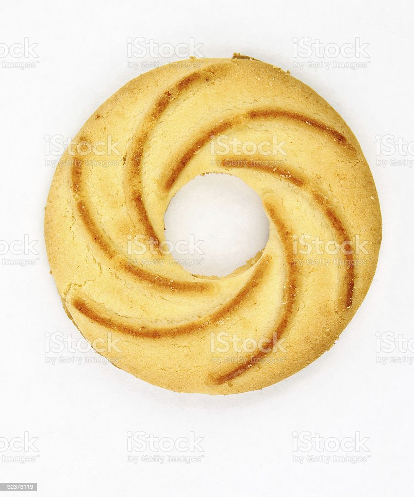 Cookies ring royalty-free stock photo