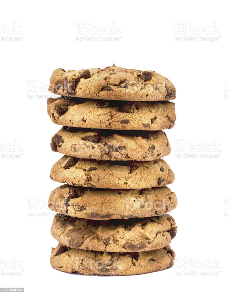 Cookies Stack royalty-free stock photo