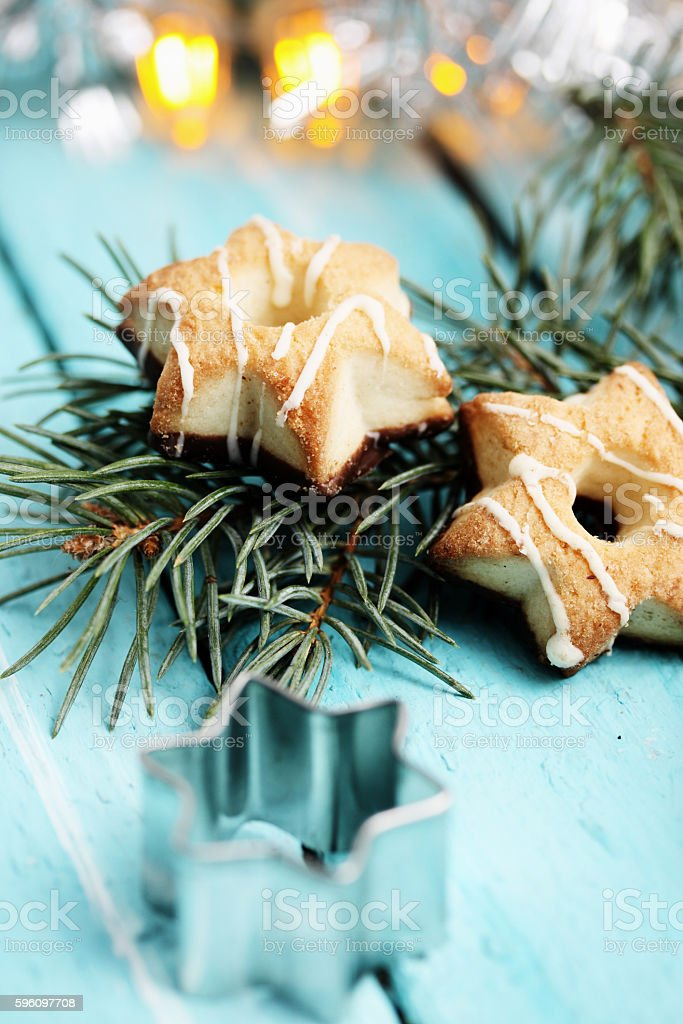Cookies - stars royalty-free stock photo