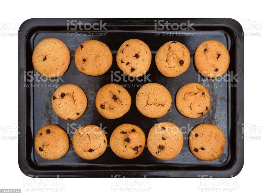 Cookies mit Schokolade – Foto