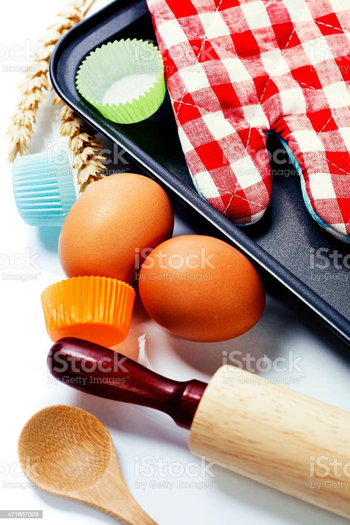 Cooking and baking concept stock photo