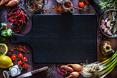 Cooking and seasoning background