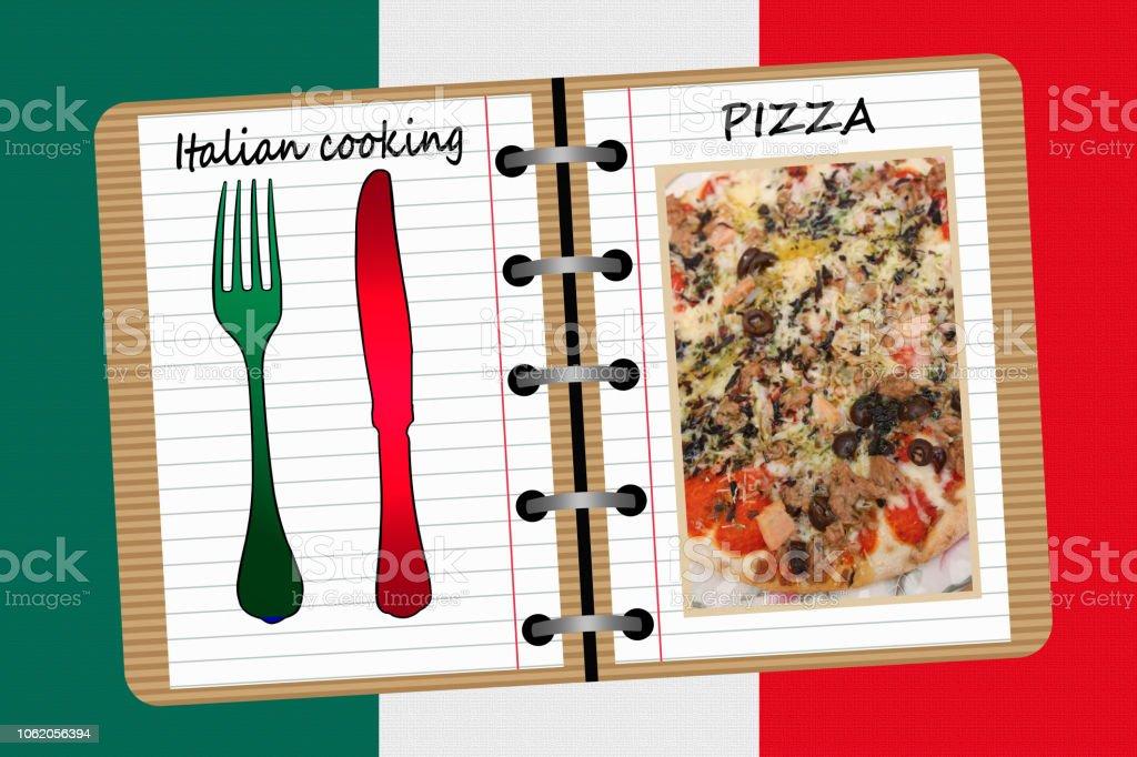Photo Libre De Droit De Cuisine Italienne Pizza De Livre De