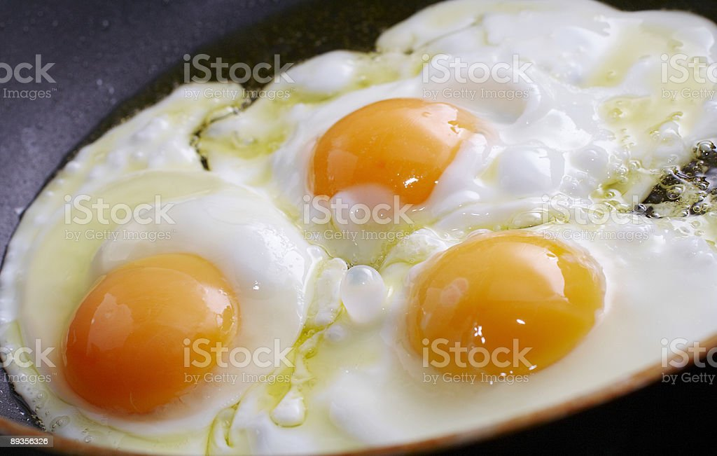 cooking breakfast stock photo