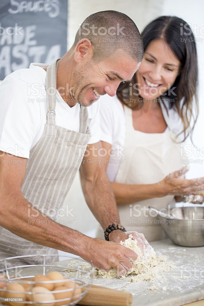 Cooking class royalty-free stock photo