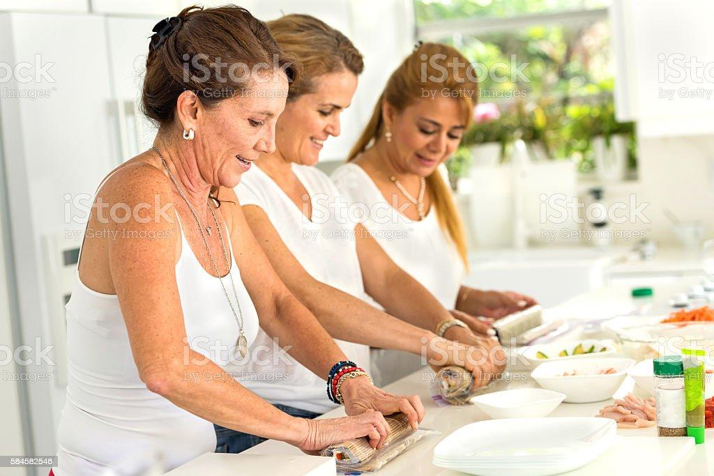 Cours de cuisine - Photo