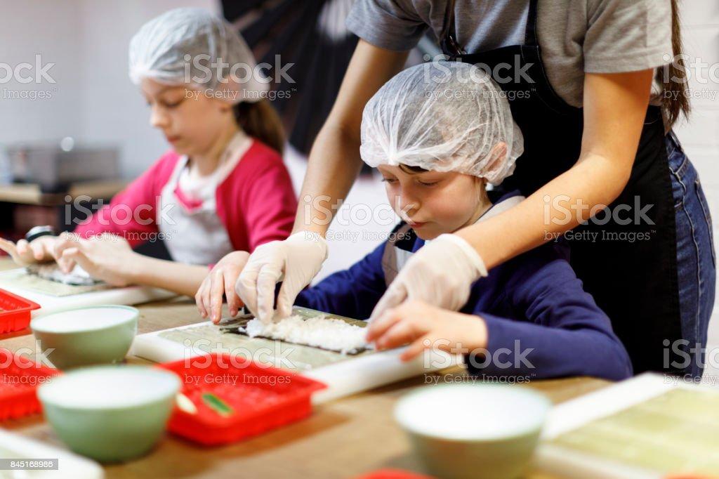 Kochkurse für Kinder – Foto
