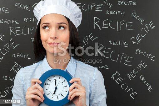 istock Cooking deadline concept 185234345