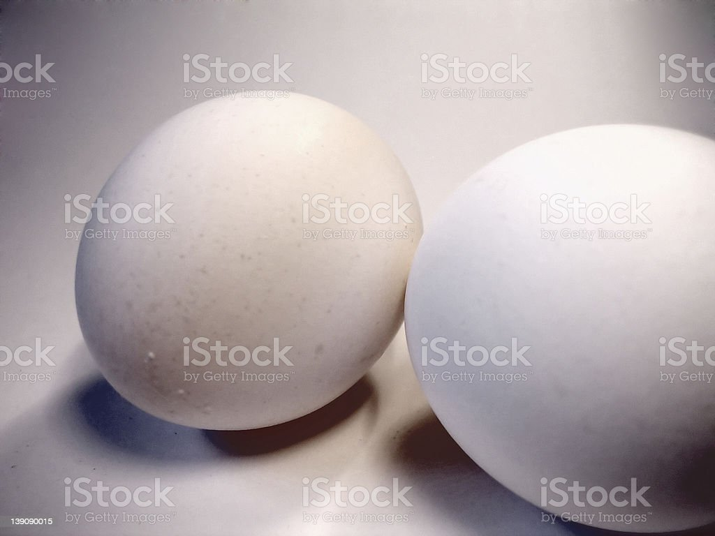 Cooking Eggs royalty-free stock photo