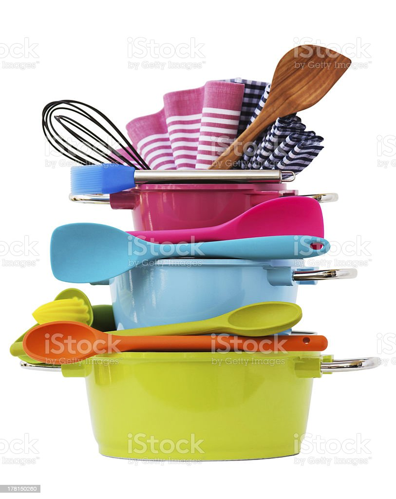 Cooking equipment - Royalty-free Apparatuur Stockfoto