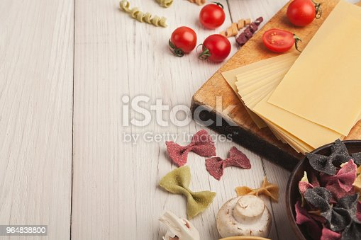 Cooking Handmade Pasta Background Stock Photo & More Pictures of Carrot