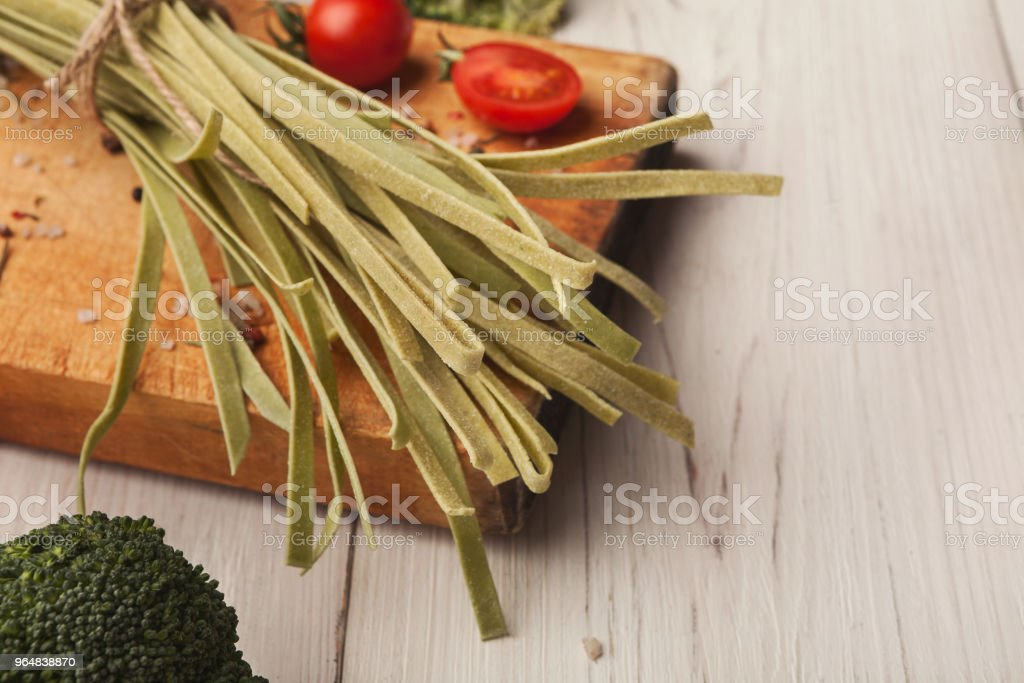 Cooking handmade pasta background royalty-free stock photo