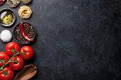 istock Cooking ingredients and utensils 675938280