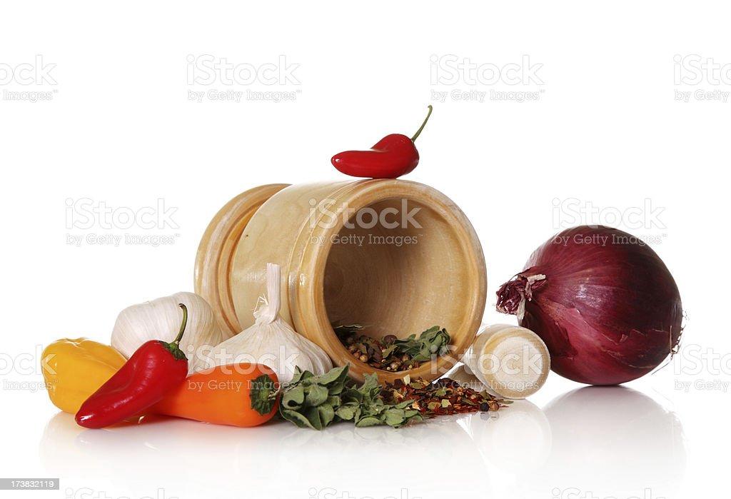 Cooking ingredients royalty-free stock photo