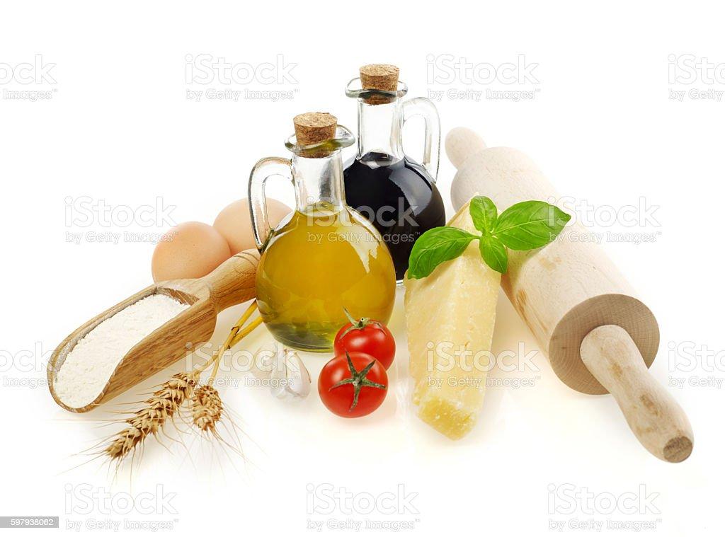 Ingredientes de culinária foto royalty-free