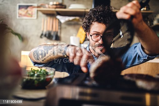 istock Cooking is a skill every bachelor should have 1181905499